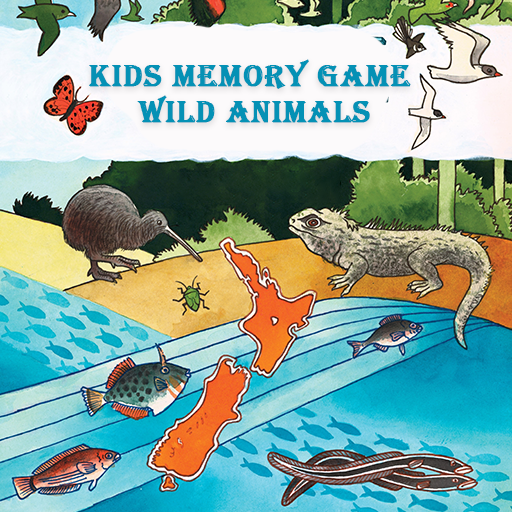 Kids Memory Game- Wild Animals